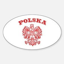Polska Oval Decal