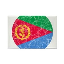 Eritrea Roundel Rectangle Magnet