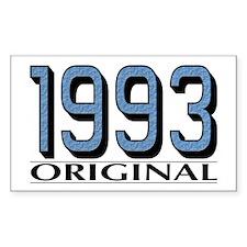 1993 Original Rectangle Decal