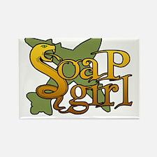 SoaP Girl Rectangle Magnet