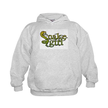 Snake Girl Kids Hoodie
