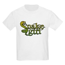Snake Girl Kids T-Shirt
