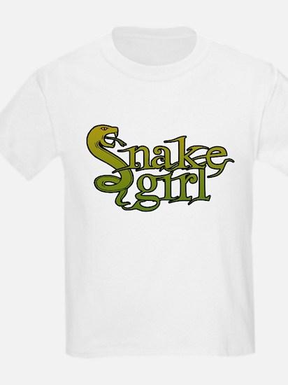 Snake Girl Kids T-Shirt