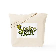Snake Girl Tote Bag