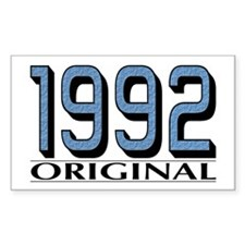 1992 Original Rectangle Decal