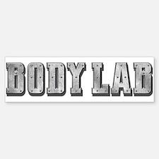 Body Lab Logo Bumper Bumper Sticker