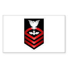 Navy Chief Aviation Ordnanceman Decal