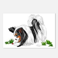 Papillon Lady Bug Postcards (Package of 8)