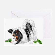 Papillon Lady Bug Greeting Cards (Pk of 10)