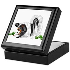 Papillon Lady Bug Keepsake Box
