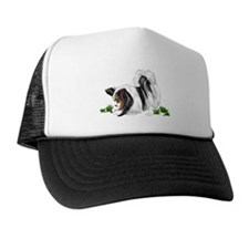 Papillon Lady Bug Trucker Hat