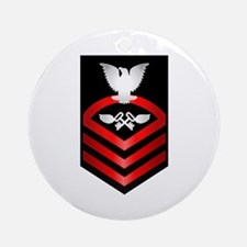 Navy Chief Aviation Storekeeper Ornament (Round)