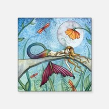 Down by the Pond Mermaid Fantasy Art by Molly Harr