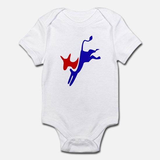 Democratic Party Donkey (Jackass) Infant Creeper