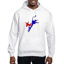 Democratic Party Donkey (Jackass) Hoodie