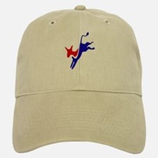 Democratic Party Donkey (Jackass) Baseball Baseball Cap