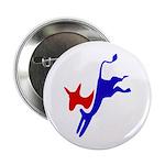 Democratic Party Donkey (Jackass) Button