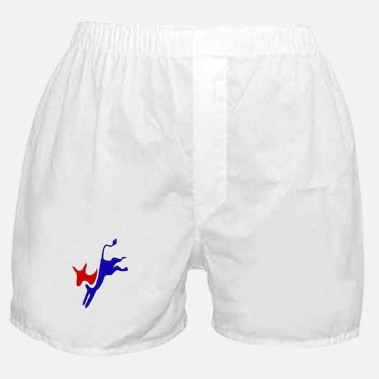 Democratic Party Donkey (Jackass) Boxer Shorts