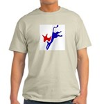 Democratic Party Donkey (Jackass) Ash Grey T-Shirt