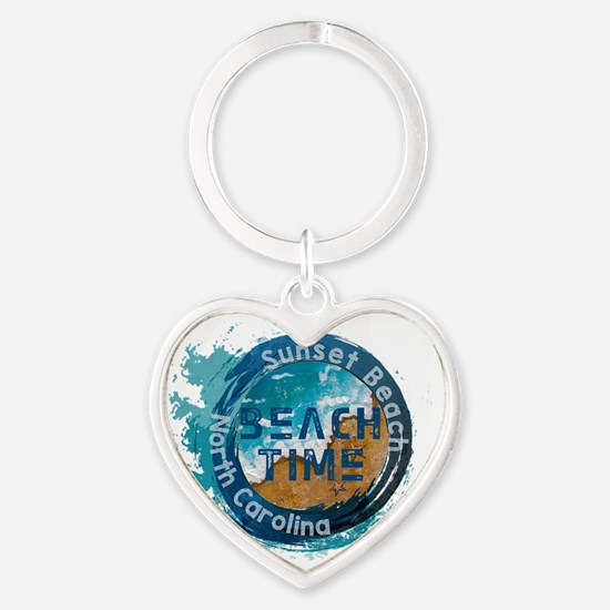 North Carolina - Sunset Beach Keychains
