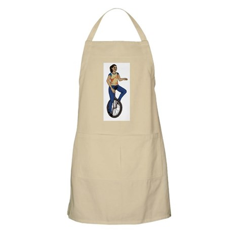 I wheelie love unicycles Apron