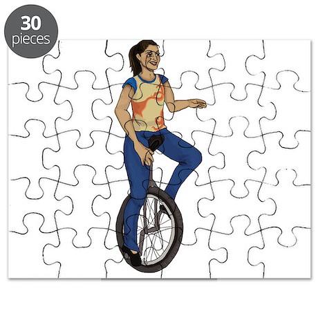 I wheelie love unicycles Puzzle