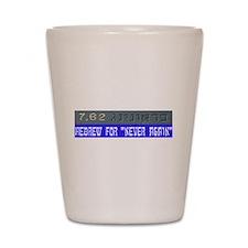 7.62 Hebrew Shot Glass
