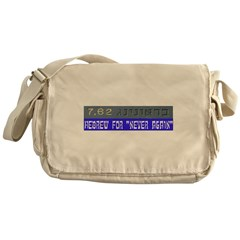 7.62 Hebrew Messenger Bag