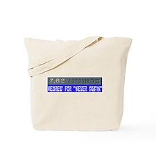 7.62 Hebrew Tote Bag