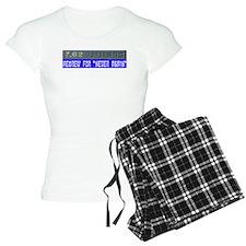 7.62 Hebrew Pajamas