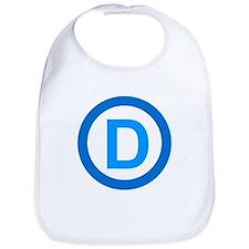 Democratic D Design Bib