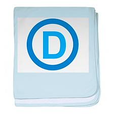 Democratic D Design baby blanket