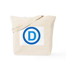 Democratic D Design Tote Bag