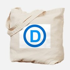 Democratic D Design Tote Bag