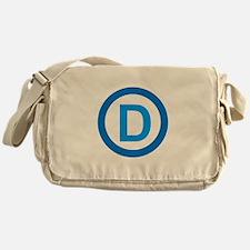 Democratic D Design Messenger Bag