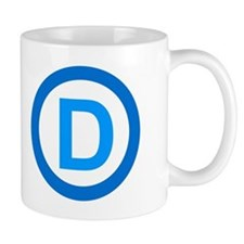 Democratic D Design Mug