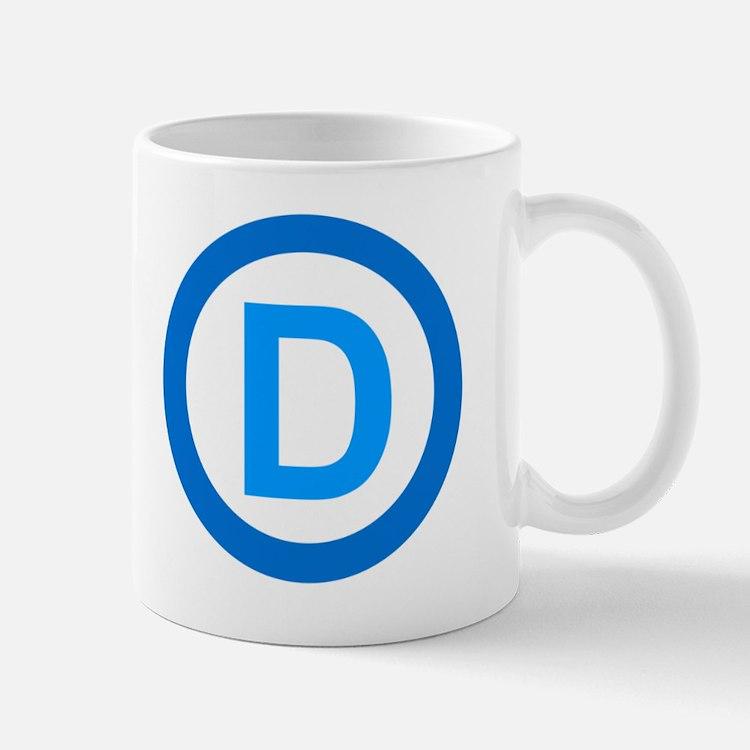 Democratic D Design Mug