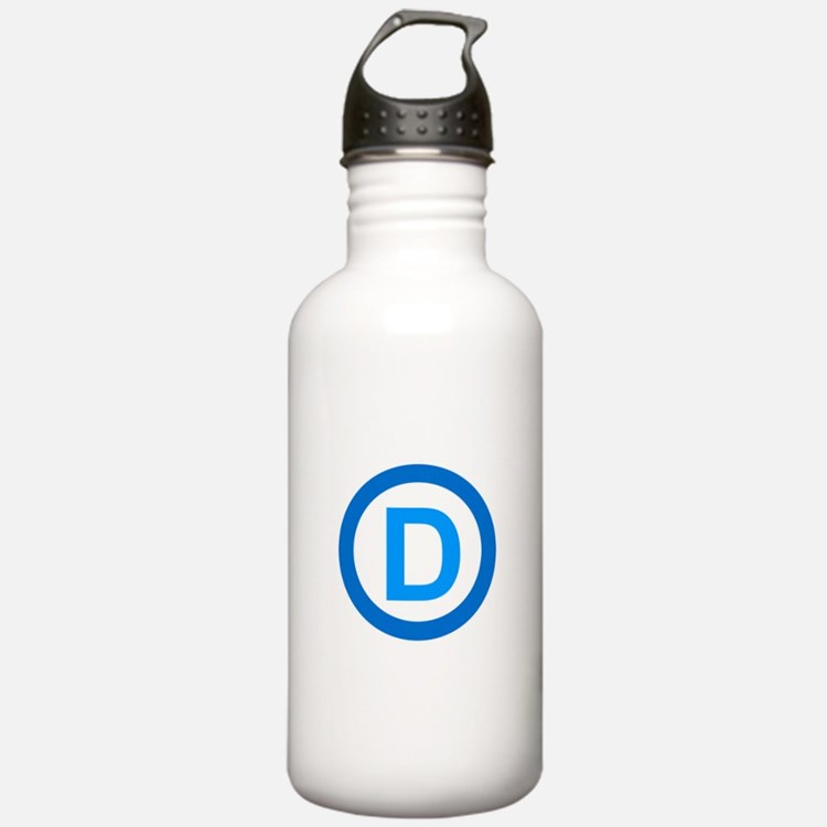 Democratic D Design Water Bottle