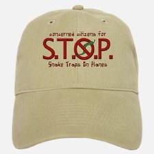 """Citizens for Snake Traps on Planes"" Baseball Baseball Cap"