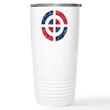 Dominican Republic Roundel Travel Mug