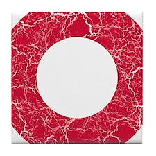 Denmark Roundel Tile Coaster