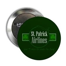 """""""St. Patrick Airlines"""" Button"""