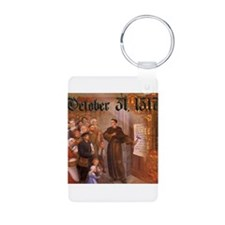 Reformation Day- October 31, 1517 Keychains