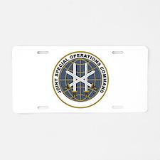 JSOC Aluminum License Plate