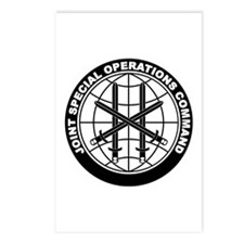 JSOC B-W Postcards (Package of 8)