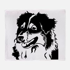 AUSSIE HEAD Throw Blanket
