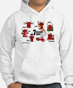 7 Deadly Sins Volleyball Hoodie