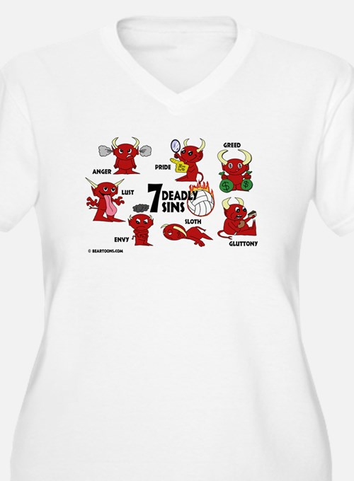 7 Deadly Sins Volleyball T-Shirt