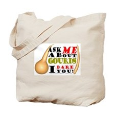 Ask me about Gourds Tote Bag