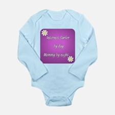 Internet Surfer by day Mommy by night Long Sleeve